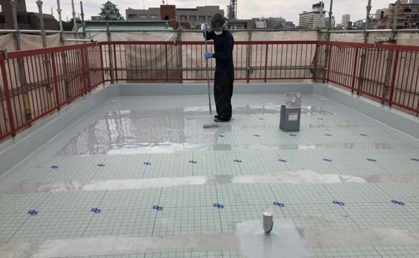 川崎市 屋上防水 進捗状況