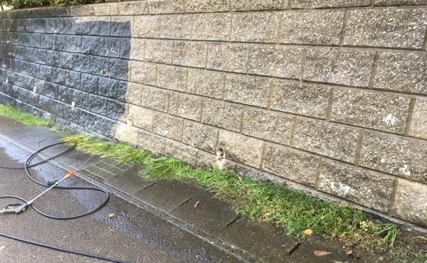 川崎市 雨の日の高圧洗浄