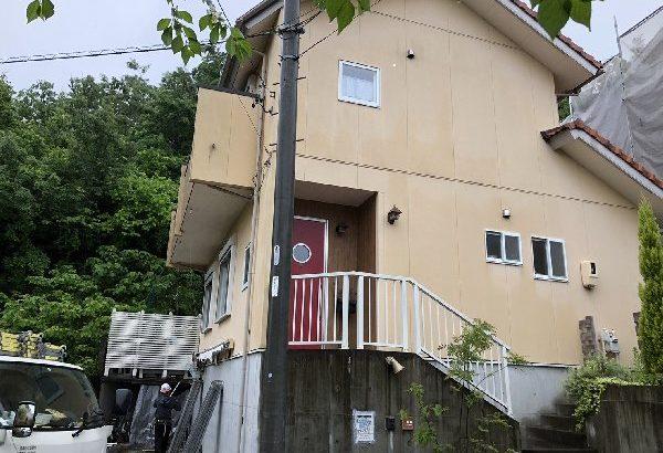 外壁塗装・付帯部塗装・シーリング打ち替え 川崎市 O様邸