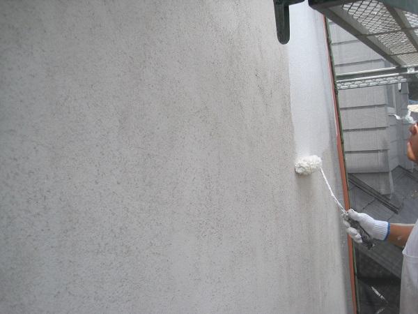 神奈川県川崎市 外壁塗装 クラック補修 サビ補修 ガイナ