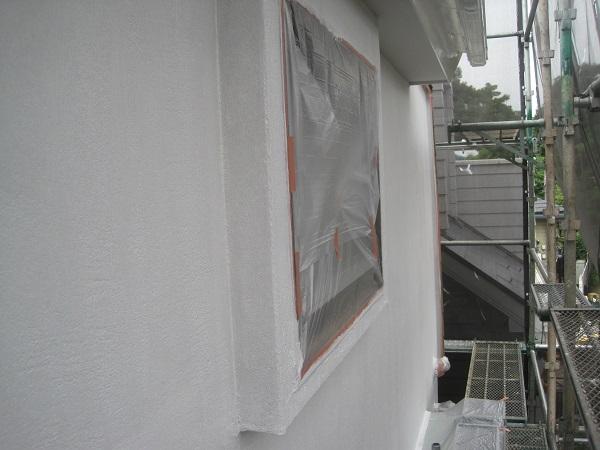 神奈川県川崎市 外壁塗装 下地処理 養生 給湯器の使用について