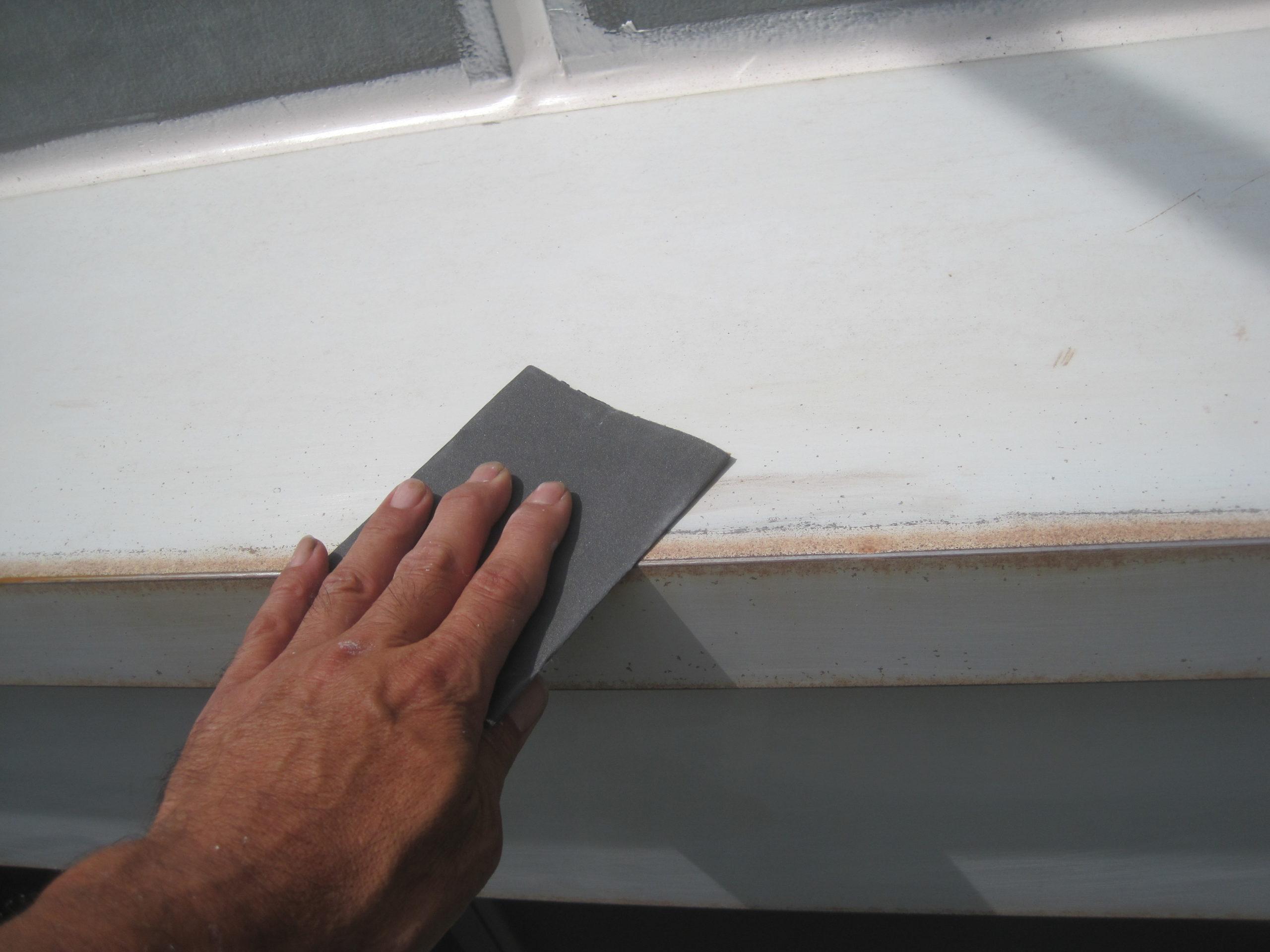 神奈川県川崎市 外壁塗装 下地処理 ひび割れ クラック補修 サビ補修