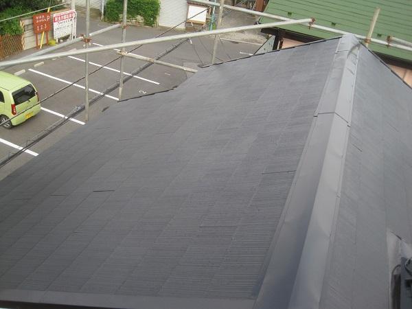 神奈川県川崎市 屋根塗装 高圧洗浄作業 ケレン作業 ルミステージ®