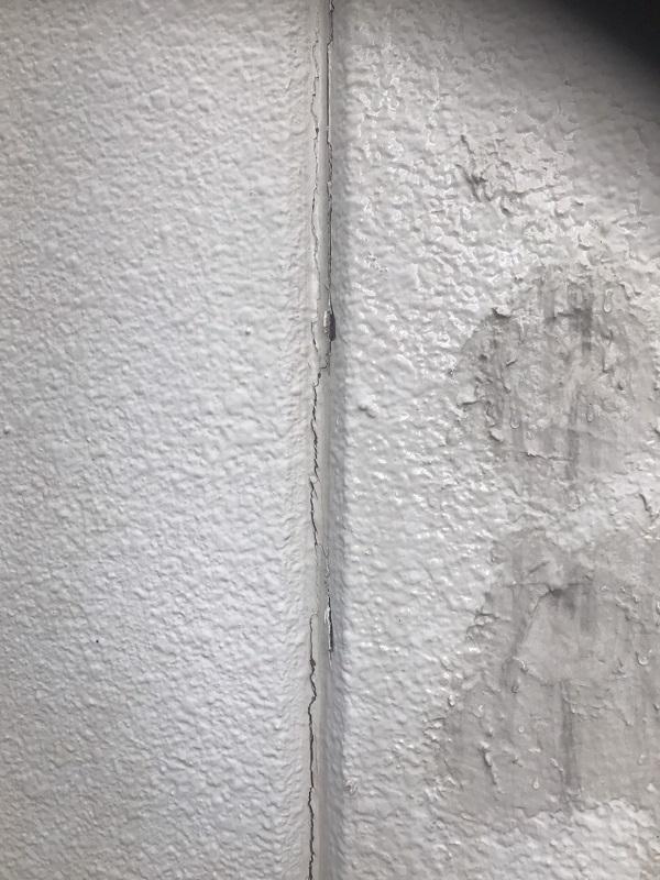 神奈川県川崎市 外壁塗装 無料診断 調査 症状 汚れ ひび割れ コーキング亀裂 チョーキング現象