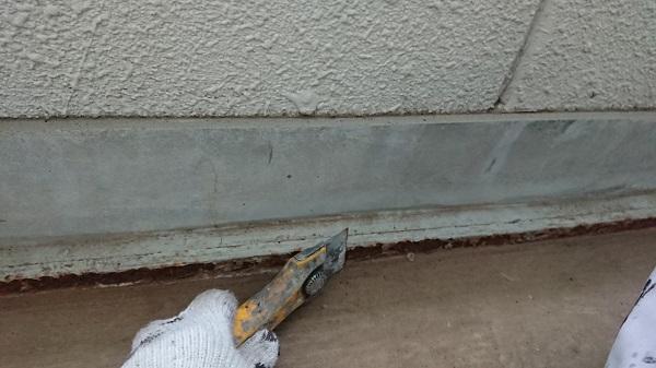 神奈川県川崎市 外壁塗装 下地処理 コーキング工事 シーリング工事 オートンイクシード