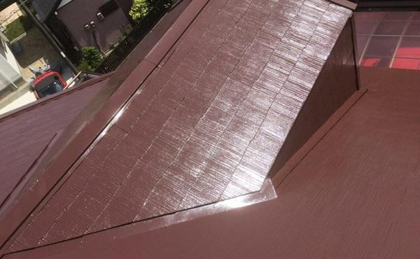 川崎市 T様宅 屋根塗装 進捗状況