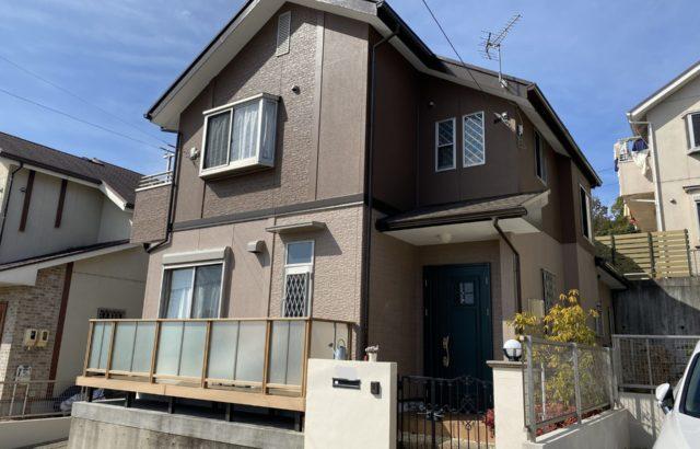 屋根塗装・外壁塗装・シーリング打ち替え・擁壁塗装・川崎市 T様邸