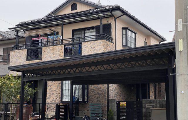 外壁塗装・付帯部塗装・シーリング打ち替え・川崎市 E様邸