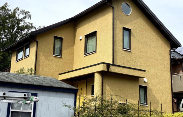 屋根塗装・外壁塗装・付帯部塗装・シーリング工事 川崎市 Y様邸