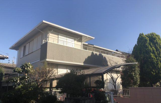 屋根塗装・外壁塗装・付帯部塗装・シーリング工事・ 川崎市 K様邸
