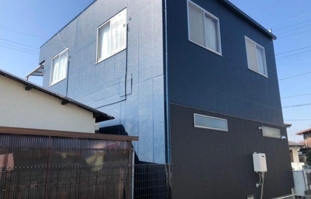 外壁塗装・防水工事・外壁ガルバリウム張り替え・川崎市 I様邸