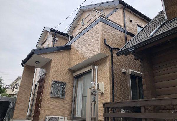 屋根塗装・外壁塗装・付帯部塗装・シーリング打ち替え 川崎市 I様邸