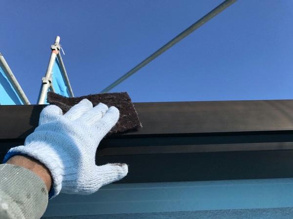 神奈川県川崎市 外壁塗装 クラック補修 ケレン作業