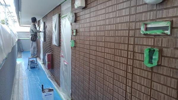 神奈川県川崎市 外壁塗装 アパート塗装 断熱塗料 ガイナ