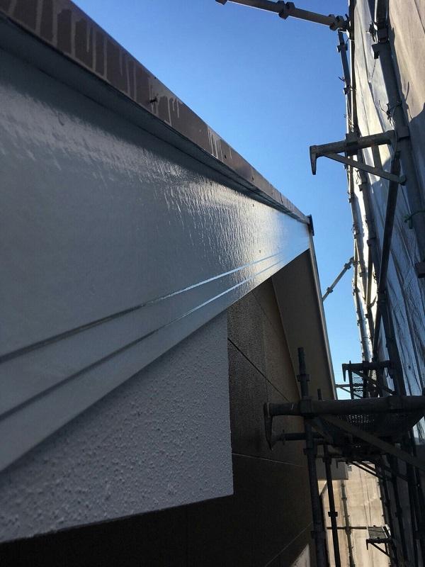 神奈川県川崎市 外壁塗装 屋根塗装 下地処理 日本ペイント パーフェクトトップ ラジカル制御式