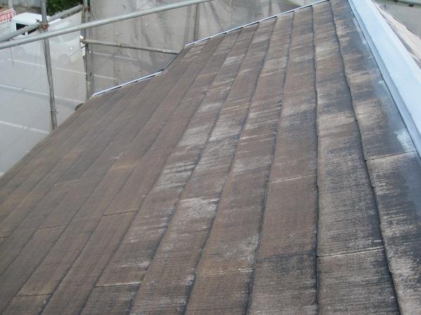 神奈川県川崎市 屋根塗装 雨漏り 下地処理 高圧洗浄