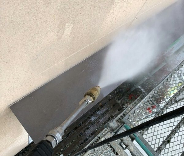 神奈川県川崎市 外壁塗装 下地処理 高圧洗浄