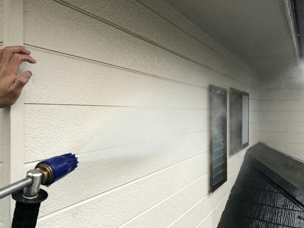 神奈川県川崎市 外壁塗装 下地処理 ひび割れ補修