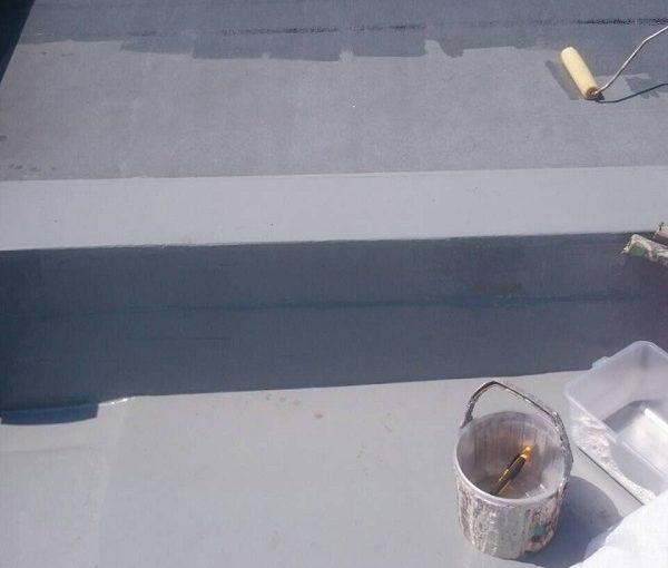 神奈川県川崎市 防水工事 屋上 FRP防水工事 梅雨入り前の施工がオススメの理由