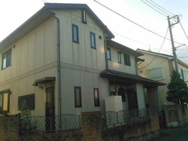 神奈川県川崎市 屋根塗装 外壁塗装 事前調査 外壁塗装と屋根塗装はセットでおトク