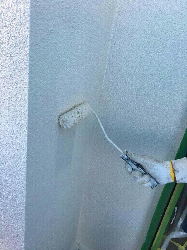 神奈川県川崎市 外壁塗装 下地処理 ひび割れ(クラック)補修 ルミステージ®