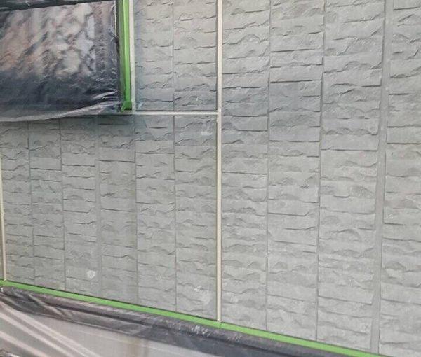 神奈川県川崎市 屋根塗装 外壁塗装 下地処理 高圧洗浄 養生