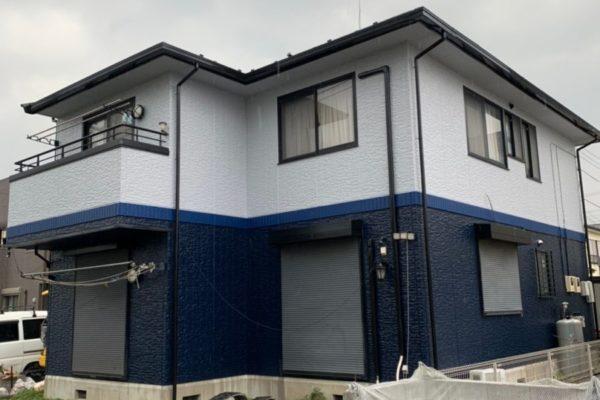 川崎市 外壁塗装 屋根塗装 コーキング打ち替え工事 付帯部塗装