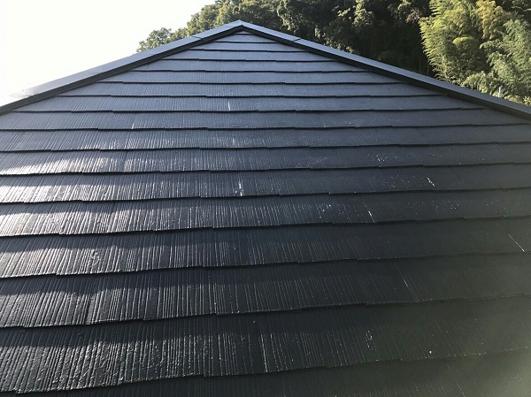 神奈川県川崎市 屋根塗装 縁切り タスペーサー