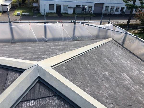 神奈川県川崎市 屋根塗装 雨漏り 高圧洗浄作業