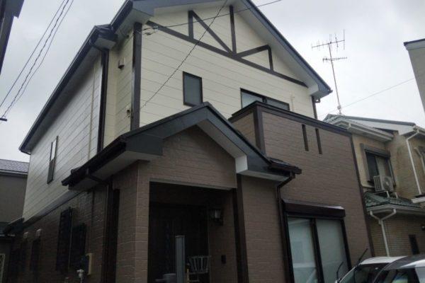 川崎市 外壁塗装 コーキング工事 付帯部塗装