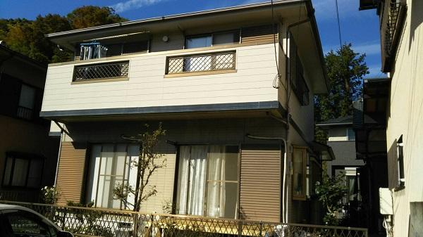 神奈川県川崎市 外壁塗装 皆様から選ばれる理由 劣化症状 チョーキング現象