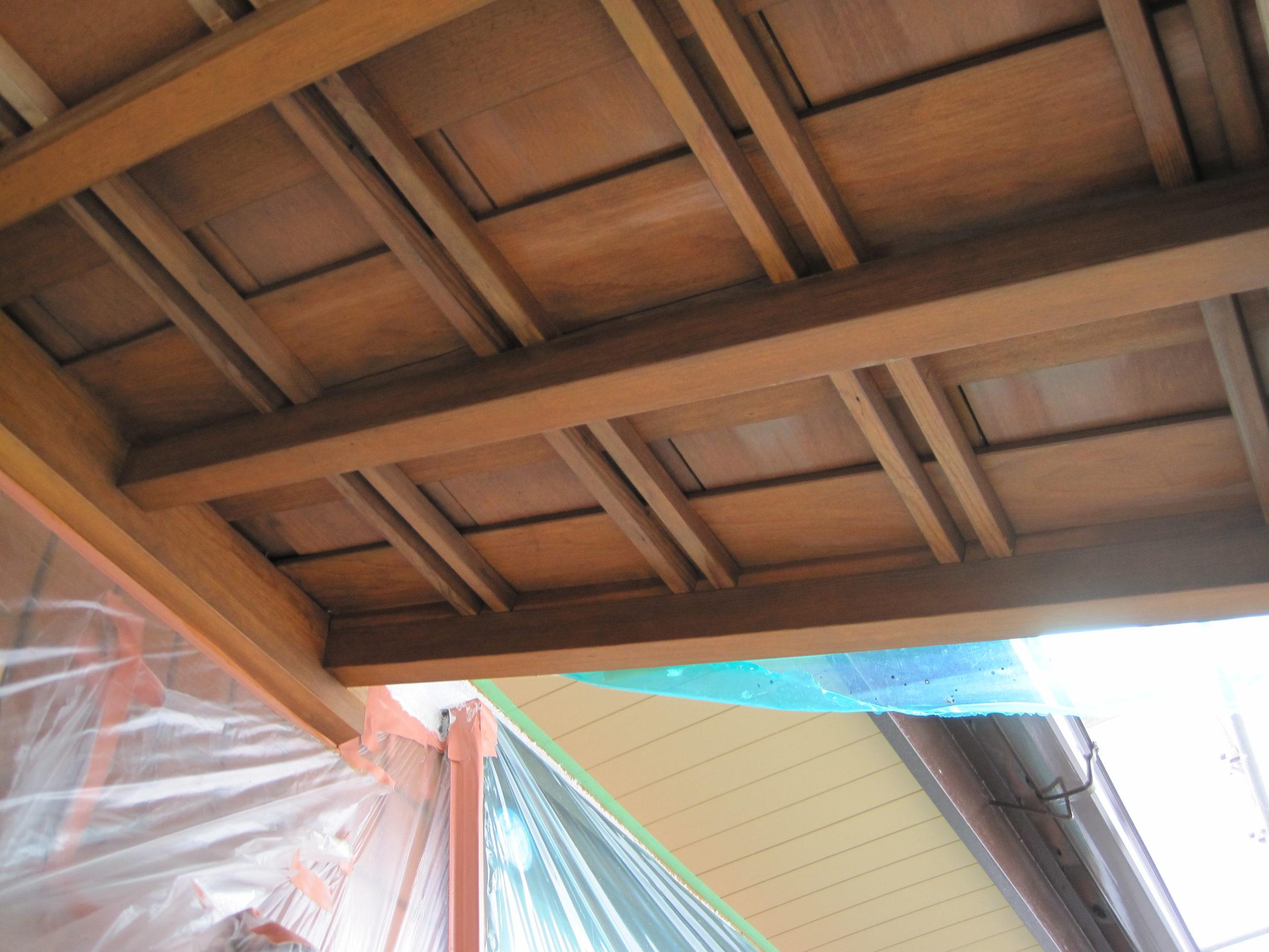 木部塗装後の画像